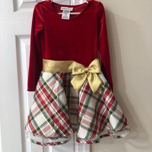 Bonnie Jean holiday dress 4T